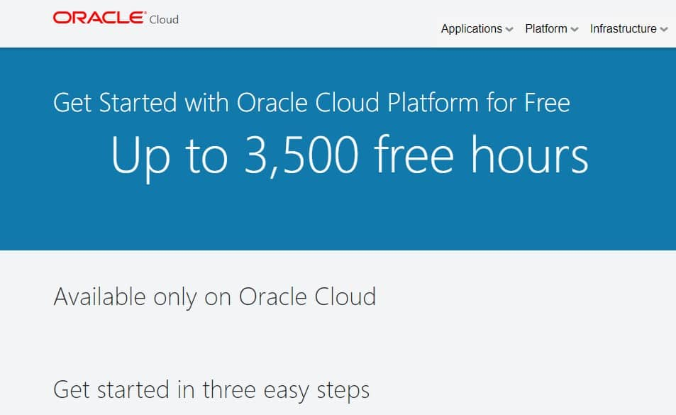 Oracle Cloud - Clue-Internet.com